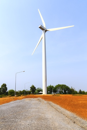 Big wind turbine Stock Photo - 12932909