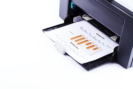 impresora: Impresi�n de la impresora un informe de empresa