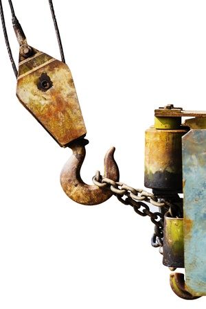 heavy duty hoist hook Stock Photo - 13596255