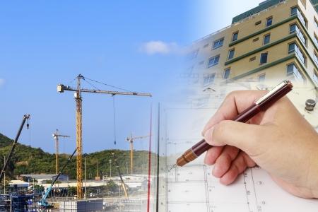 design and develop a construction plan photo