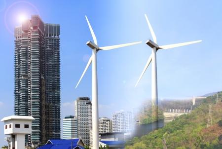 alternative energy sources: Alternative energy sources  windmills