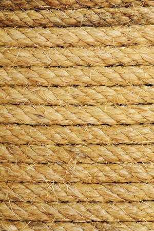 background of hemp rope photo