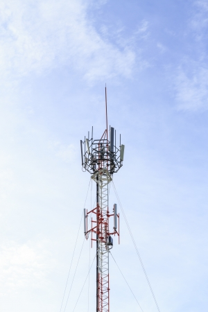 tower  communication Stock Photo - 15488179