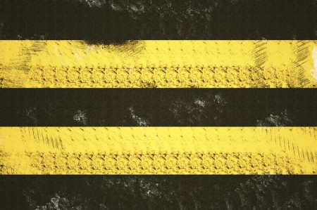 Grunge background ,road marking style - Double Yellow Lines photo