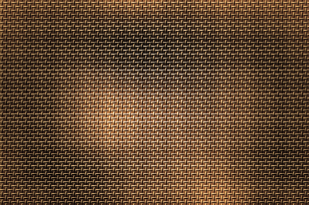metal bronze template with scratch pattern. photo