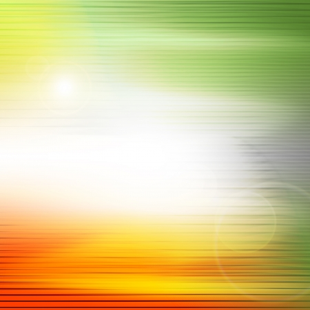 High Technology background concept. Digitally generated image of yellow light and stripes moving fast