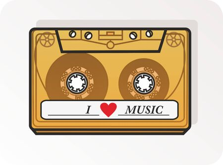 cassette Stock Vector - 18546463