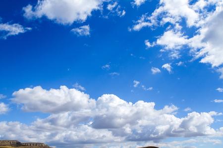 Rainy clouds over mountains horizon. Reklamní fotografie