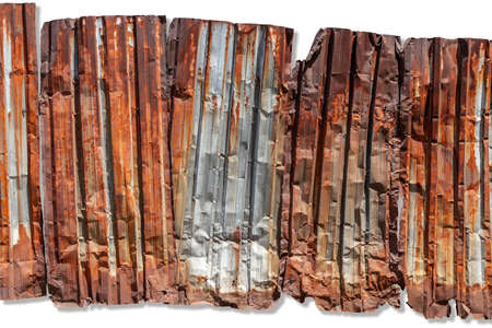 Rusty metal sheet. Perfect grunge background Banque d'images