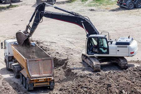 earthwork loading for building construction