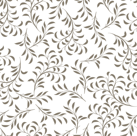 seamless branches draw pattern 免版税图像