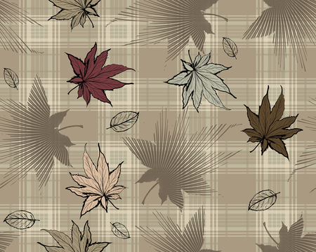 Plaid brown background Imagens