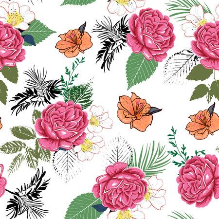 tropical flower Ilustração