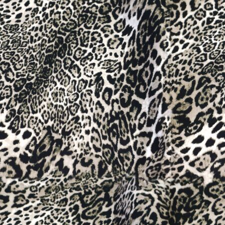 Seamless pattern wild Leopard and Skin design abstract