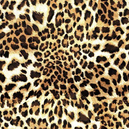 leopard skin texture seamless pattern