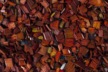 wood chip: Colored decorative wood chip mulch grunge background