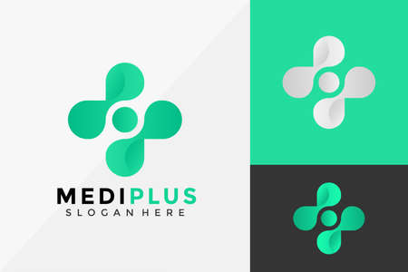 Medical Plus Icon Logo Design, Modern Logo Designs Vector Illustration Template