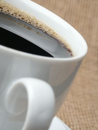 Fresh Black Coffee mit Mousse.
