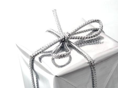 Gift - Silber.  Lizenzfreie Bilder