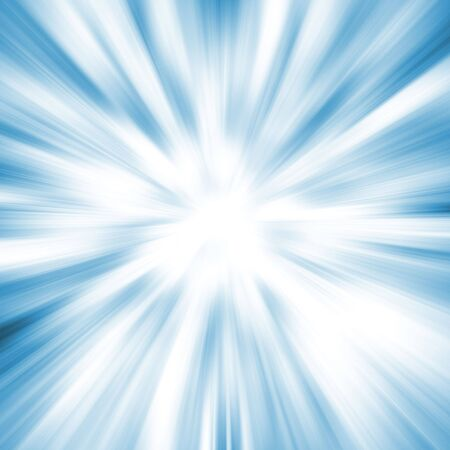 Blue Blast. Abstract background. Stock Photo - 286652