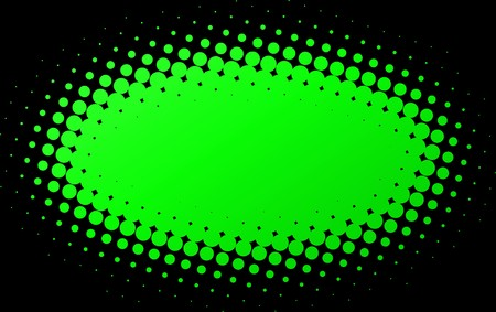 Illustration of Green spotted Flash with black background.