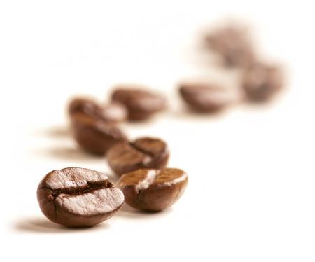 granos de cafe: Granos de café