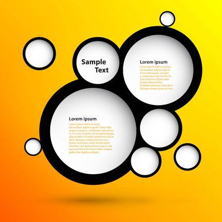Schaumbläschen Zusammenfassung Web-Design
