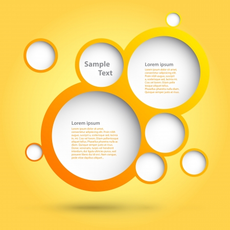 Foam Bubbles  Abstract web design   Vector