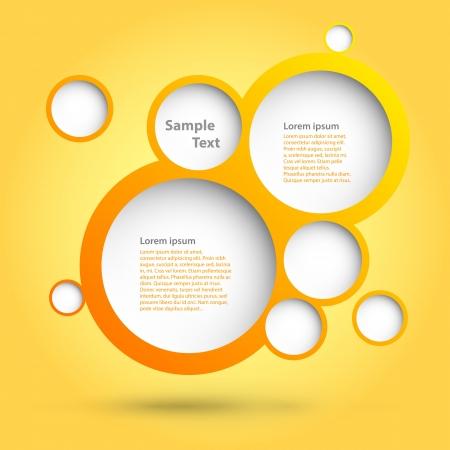 Schaumblasen Abstrakte Web-Design