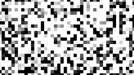 monochromatic: Monochromatic textured abstract background. Black and white TV noise.