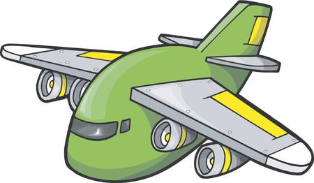 airforce: Jumbo Jet Vector Illustration Illustration