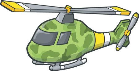 Helicopter Vector Illustratie