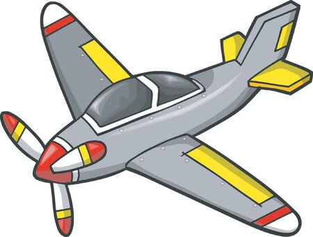 airforce: Airplane Vector Illustration Illustration