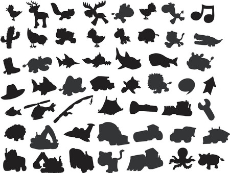 skunk: Vector Silhouette Collection
