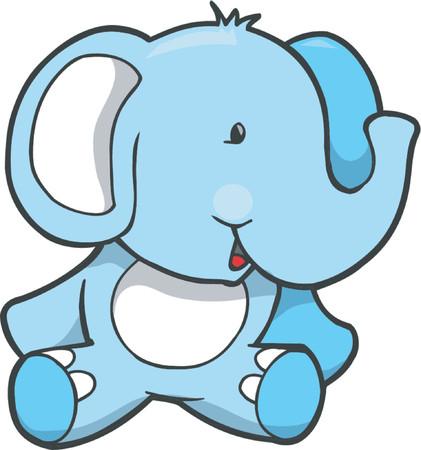 Elephant Vector Illustratie
