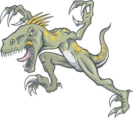 Raptor Vector Illustration