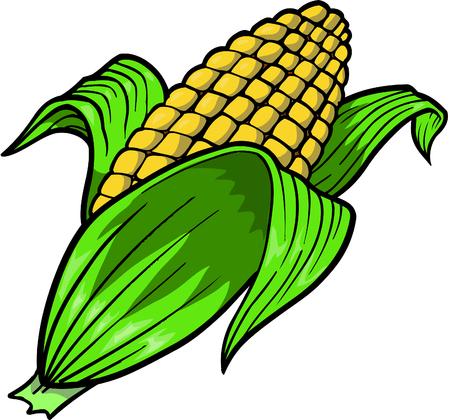 Corn vectorillustratie