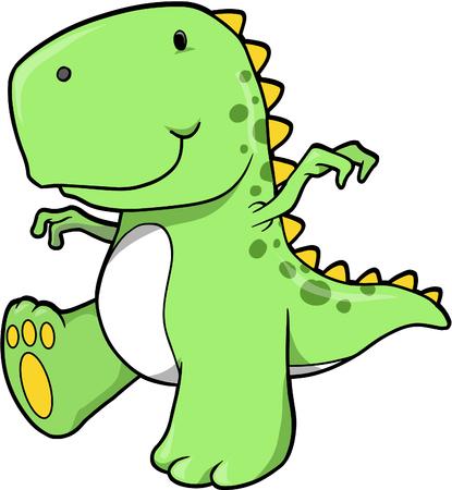 T-レックス恐竜ベクトル イラスト 写真素材 - 1790047