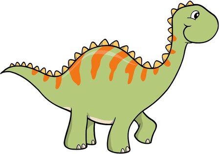 Dinosaur Vector Illustration Stock Vector - 1799781