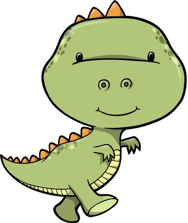 dinosaur Vector Illustration