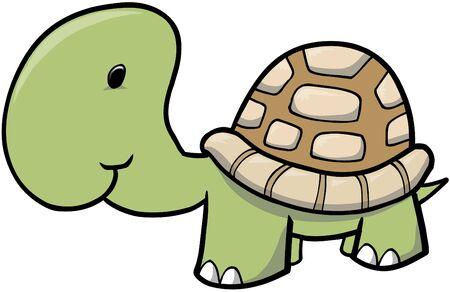 Turtle Vector Illustration Stock Vector - 1932626