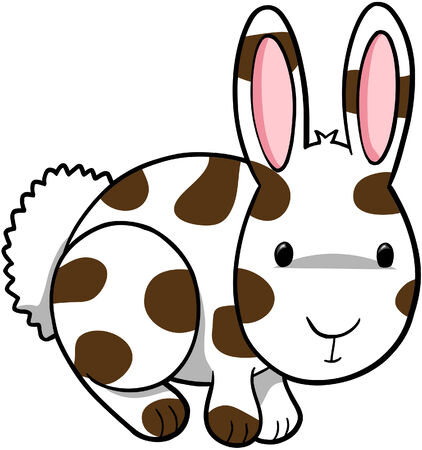Rabbit Vector Illustration Иллюстрация