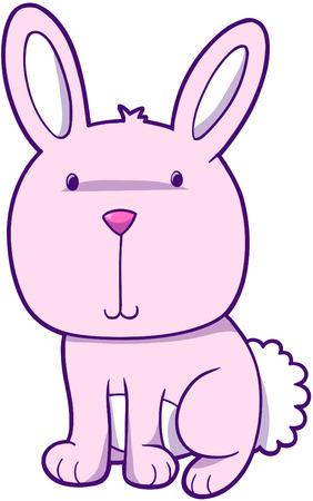 bunny rabbit: Conejo Bunny ilustraci�n vectorial