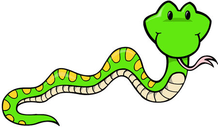 Snake Vector Illustratie: Stock Illustratie