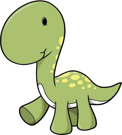 Vector Dinosaur Stock Vector - 2056010