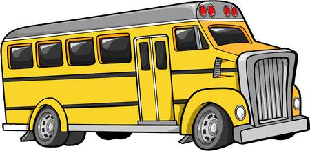 Bus_Vector Illustration Illustration