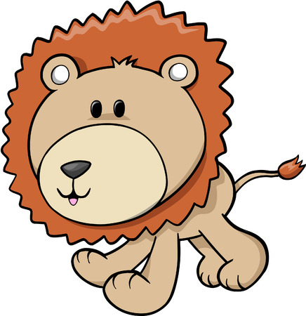 Lion Vector Illustration Illustration