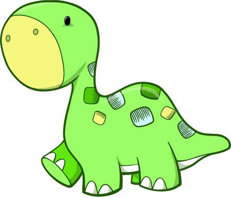 벡터 공룡 일러스트