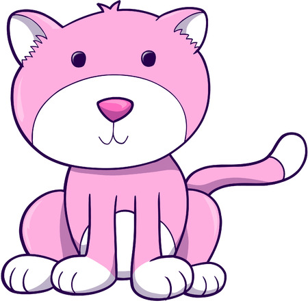 domesticated: Cat Vector Illustration
