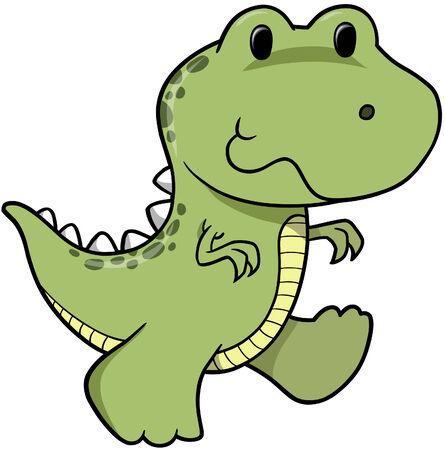 공룡 벡터 일러스트 레이션